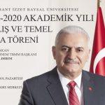 binali banner 12 150x150 - 2019-2020 Akademik Yılı Açılış ve Temel Atma Töreni