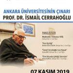 cerrahogluPanel 150x150 - Ankara Üniversitesinin Çınarı Prof. Dr. İsmail Cerrahoğlu / Panel