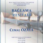 Cemal Ozata AFIS 005 Persembe 150x150 - BAİBÜ GSF Müzik Bölümü-Bağlama Resitali