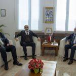DSC 7844 150x150 - Cumhurbaşkanı Başdanışmanı Yalçın Topçu'dan, Rektör Alişarlı'ya Ziyaret