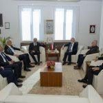 DSC 7856 150x150 - Cumhurbaşkanı Başdanışmanı Yalçın Topçu'dan, Rektör Alişarlı'ya Ziyaret