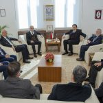 DSC 7879 150x150 - Cumhurbaşkanı Başdanışmanı Yalçın Topçu'dan, Rektör Alişarlı'ya Ziyaret