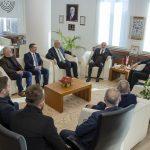 DSC 7887 150x150 - Cumhurbaşkanı Başdanışmanı Yalçın Topçu'dan, Rektör Alişarlı'ya Ziyaret