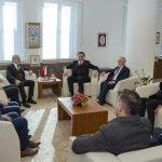 DSC 7893 150x150 - Cumhurbaşkanı Başdanışmanı Yalçın Topçu'dan, Rektör Alişarlı'ya Ziyaret