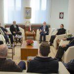 DSC 7893a 150x150 - Cumhurbaşkanı Başdanışmanı Yalçın Topçu'dan, Rektör Alişarlı'ya Ziyaret