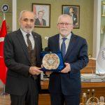 DSC 7897A 150x150 - Cumhurbaşkanı Başdanışmanı Yalçın Topçu'dan, Rektör Alişarlı'ya Ziyaret