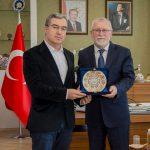 DSC 7915A 1 150x150 - Cumhurbaşkanı Başdanışmanı Yalçın Topçu'dan, Rektör Alişarlı'ya Ziyaret