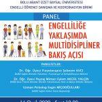 engelli afisi 150x150 - Engelliliğe Yaklaşımda Multidisipliner Bakış Açısı / Panel