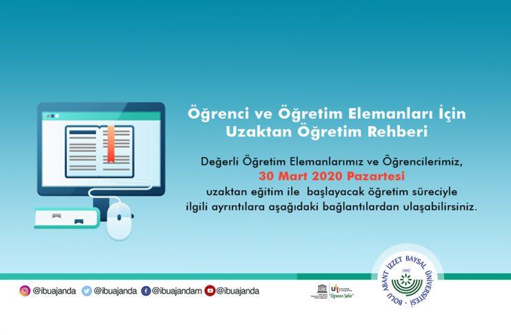 """uzaktan egitim öğretim web 741x486 - AİBÜ'de """"Son Milli Mücadele 15 Temmuz"""" Programı…"""